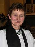 Reverend Coralie McCluskey, vicar of the Church of St Mary The Virgin, Eaton Bray with Edlesborough.