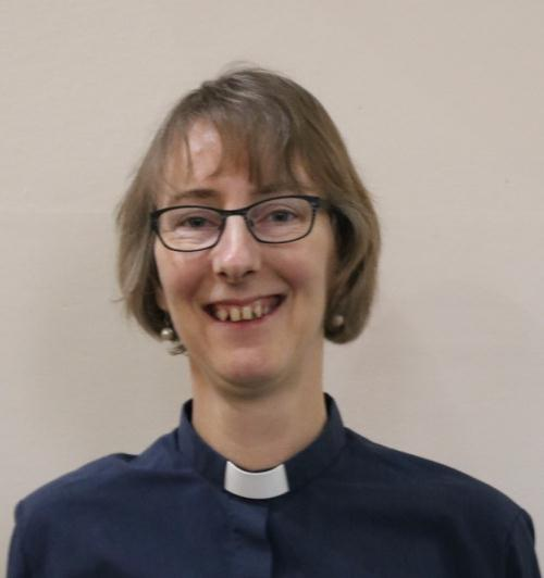 Reverend Joy Cousans, vicar of the Church of St Mary The Virgin, Eaton Bray with Edlesborough.