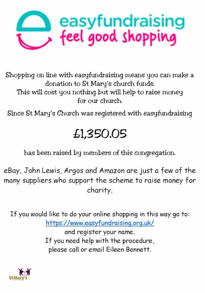 Easyfundraising information