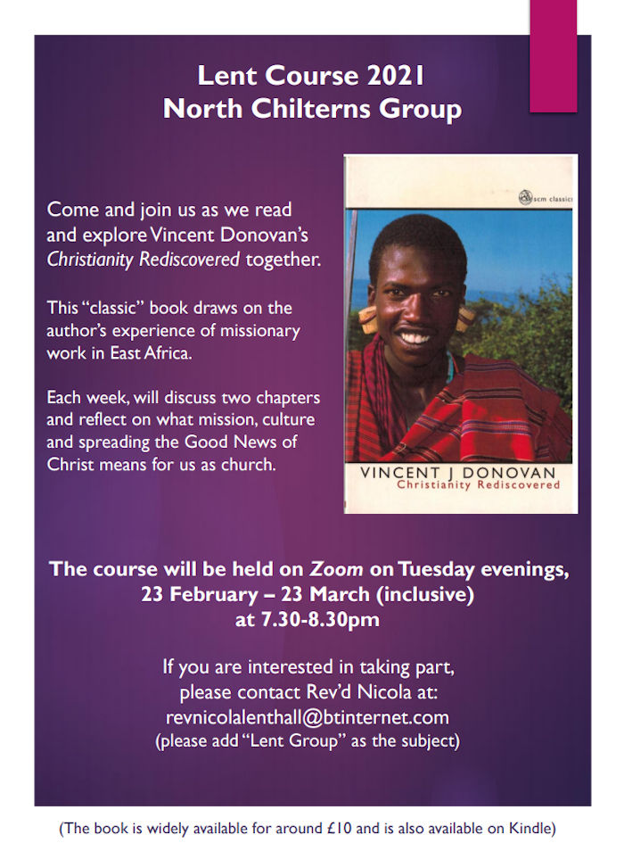 Lent Course 2021 - North Chilterns Group