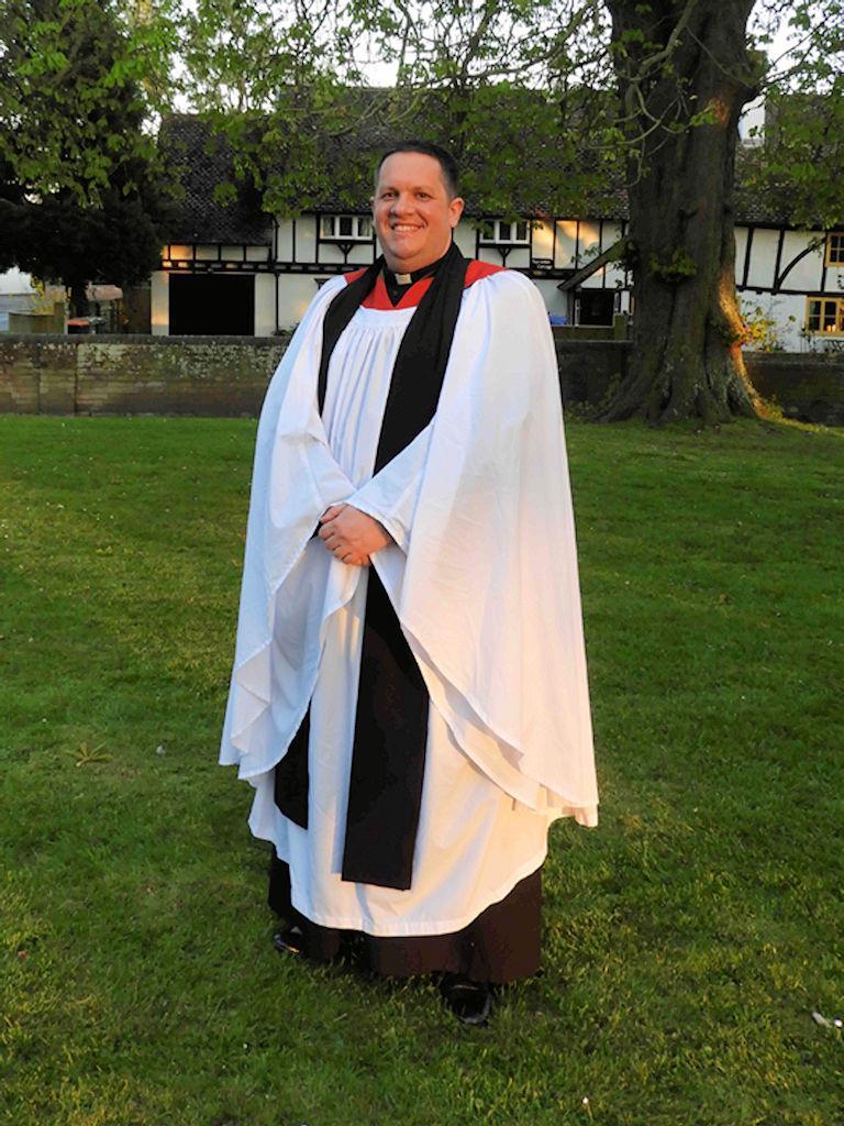 Stephen Burge, Associate Priest, St Mary's Eaton Bray