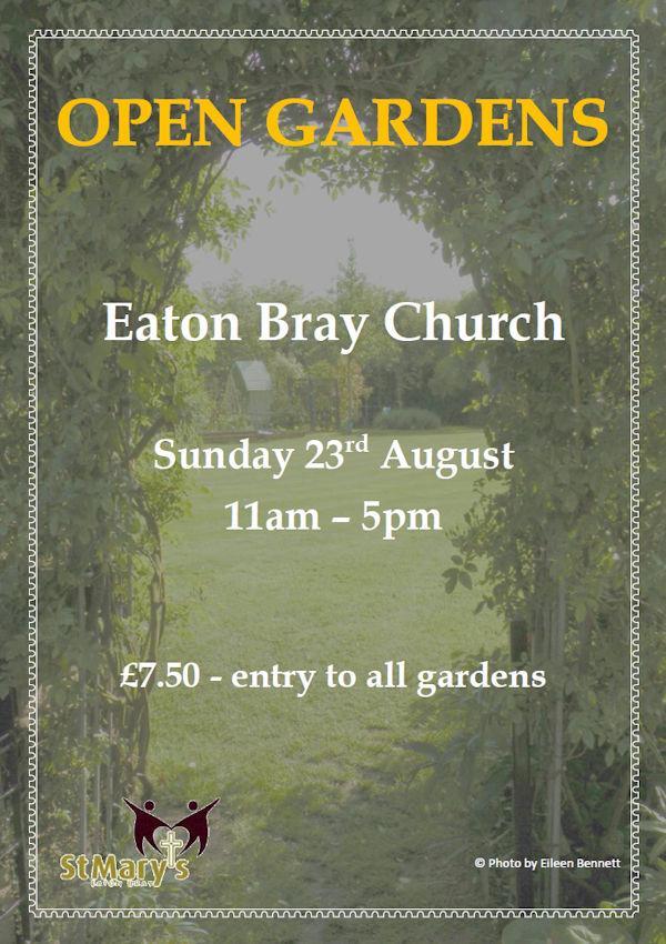 Open Gardens - 23 August 2020