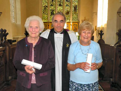 Celia French, Malcolm Grant, Doroth Bradbury